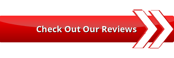 Red and White Check Reviews Button and Arrow